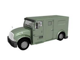 Cash Truck 3d model