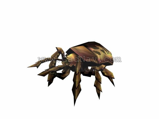 Dung Beetle 3d Model 3ds Max Files Free Download