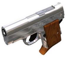 AMT pistol 3d model