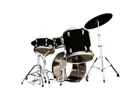 Jazz Drum 3d model