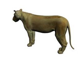 Guennol Lioness 3d model