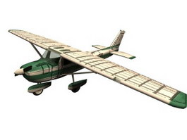 Cessna aircraft 3d model