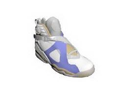 Men Fashion Sneakers 3d model