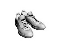 Sneakers deck shoes 3d model