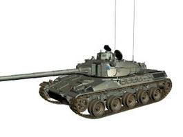 GIAT AMX-30 main battle tank 3d model