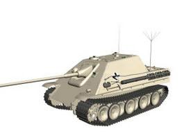 Jagdpanzer IV hunting tank 3d model
