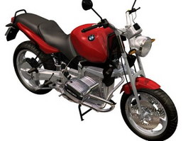 BMW R1100R sport-touring motorcycle 3d model