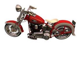 Harley-Davidson Sportster 3d model