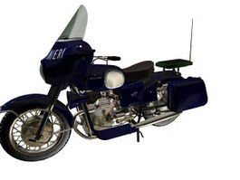 Guzzi V700 motorcycle 3d model
