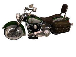 Harley-Davidson FLSTS Heritage Springer 3d model