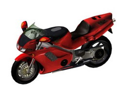 Honda NR 750 New Racing motorcycles 3d model