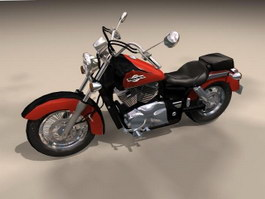 Honda Shadow American Classic Edition Motorcycle 3d model