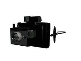 Polaroid 100 Land Camera 3d model