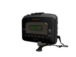 AIWA TX656 CD player 3d model