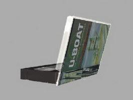 VHS video tape 3d model