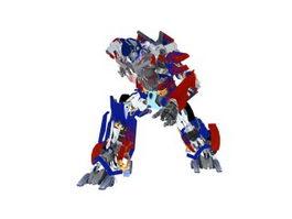 Transformers Optimus Prime 3d model