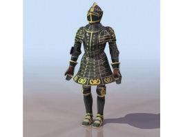 Ferdinand Armor 3d model