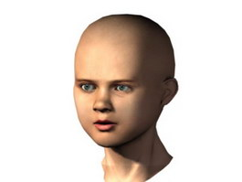 Young Anakin Skywalker 3d model