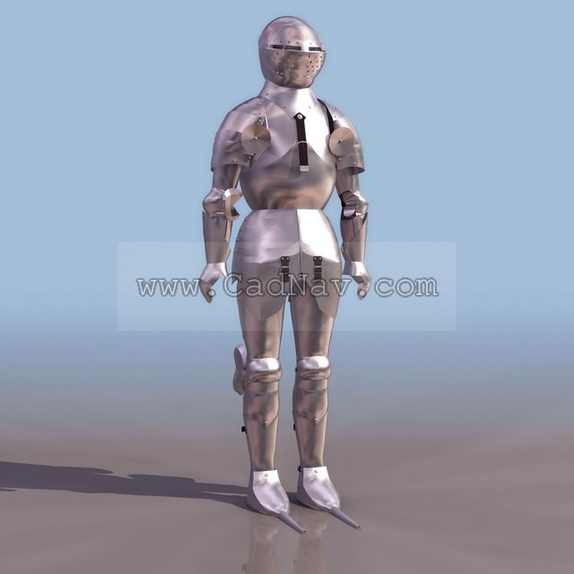 Freder Armor 3d model - CadNav