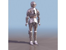 Freder Armor 3d model