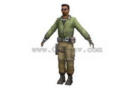 Future Soldier 3d model