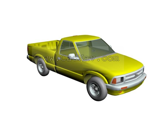 CHEVROLET BLAZER S10 Pickup 3d model
