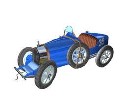 Bugatti Type 35 3d model