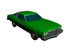 Buick Coupe 3d model