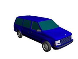 Chrysler Grand Caravan 3d model