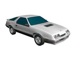 Chrysler cars 3d model