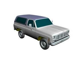 Ford Bronco 3d model