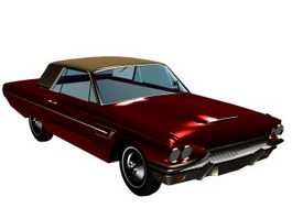 Ford Thunderbird 1964 3d model