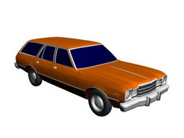 Ford Wagon 3d model