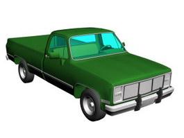 GMC truck 3d model