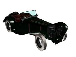 Jaguar 1930 3d model