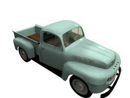 Ford pick-up truck 3d model
