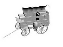 Chuck Wagon 3d model