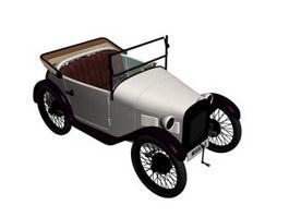 1928 BMW Dixi 3d model