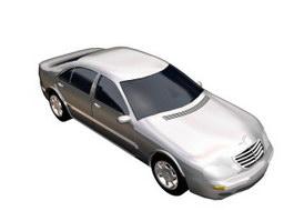 Mercedes Benz S-Class 3d model