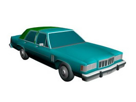 Mercury Grand Marquis 3d model