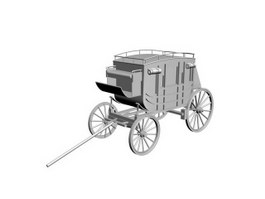 Stagecoach Jacking 3d model