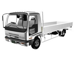 ISUZU FORWARD V(cargo) 98 3d model