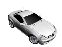Mercedes Benz SLK Class 3d model