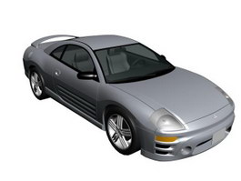 Mitsubishi Eclipse 3d model