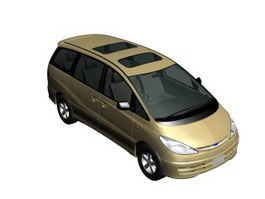 Toyota Estima 3d model