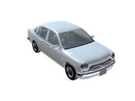 Toyota Origin 3d model