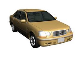 Toyota Progres 3d model