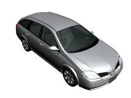 NISSAN PRIMERA WAGON 3d model