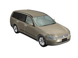Nissan Stagea 3d model