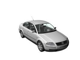 VW Passat 3d preview